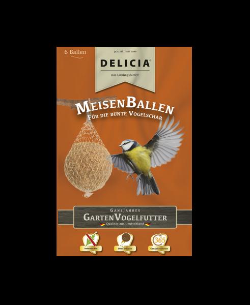 DELICIA MeisenBallen Meisenknödel Winterfutter à 6 Stk.