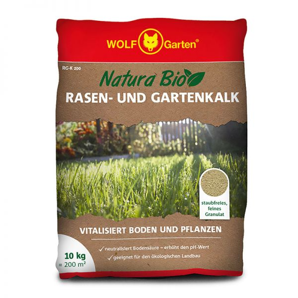 WOLF-Garten RG-K 200m² Rasen- und Gartenkalk