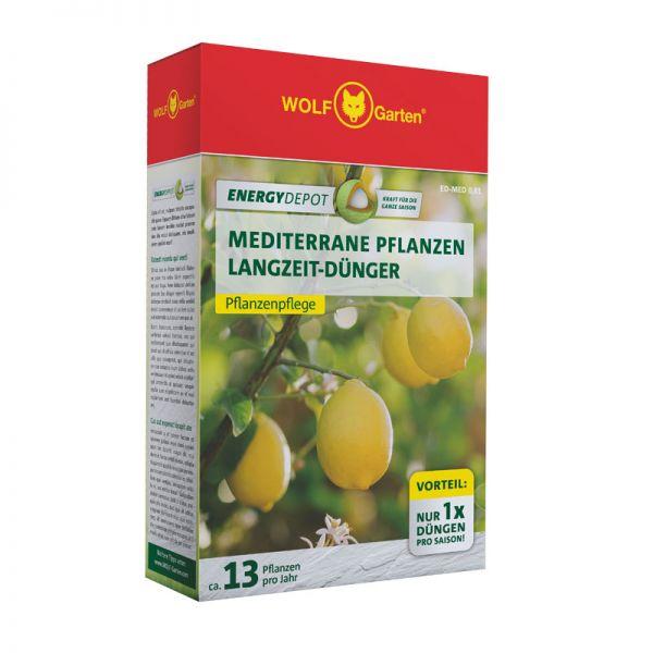 WOLF-Garten ED-MED 0,81kg D/A Energy Depot Mediterrane Pflanzen Langzeitdünger, Pflanzendünger