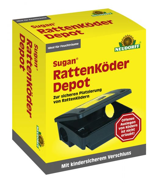 MaxGarten Sugan RattenköderDepot Neudorff