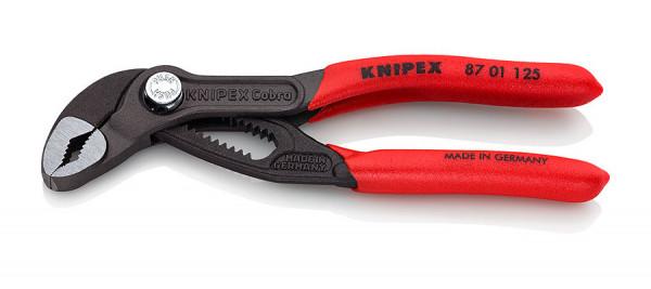 KNIPEX Wasserpumpenzange Cobra mit Druckknopfverstellung Länge 125