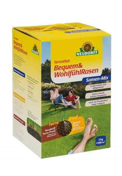 TerraVital Bequem&WohlfühlRasen Samen Mix
