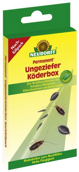 Neudorff Permanent UngezieferKöderbox Nachfüllpack