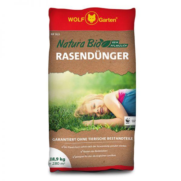 WOLF-Garten NR 18,9kg Natura Rasendünger