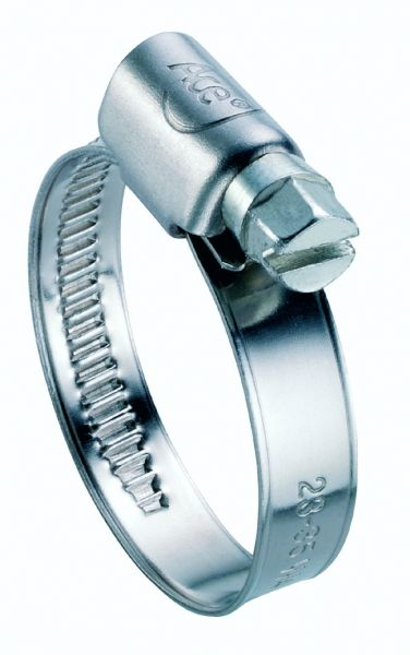 Schlauchschellen Edelstahl V2A DIN 8 bis 50 mm