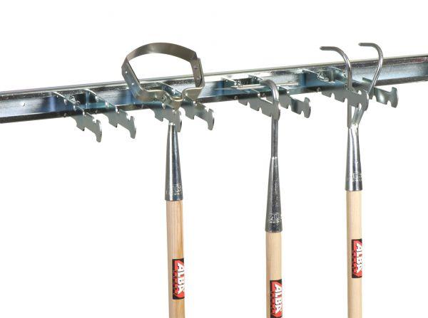 ALBA Krapf Halteschiene Gerätehalter für Werkzeug Stahl verzinkt
