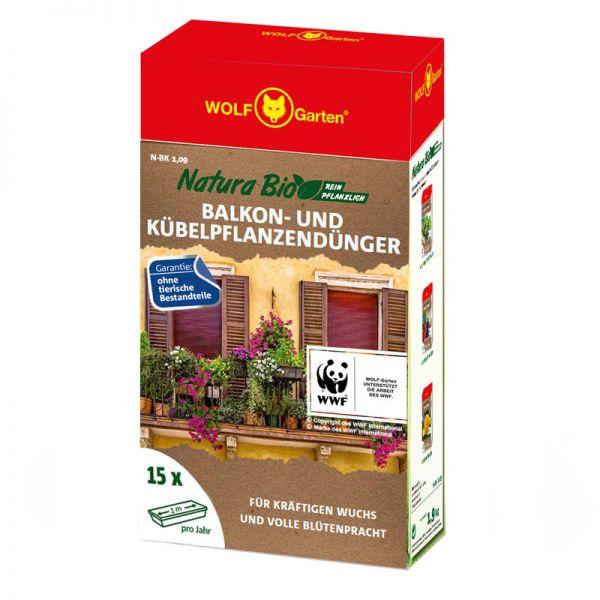 WOLF-Garten N-BK 1,9kg Balkonkastendünger, Pflanzendünger
