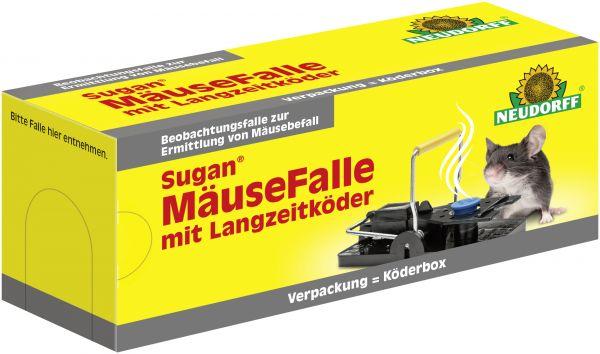 Maxgarten Sugan MäuseFalle mit Langzeitköder Neudorff