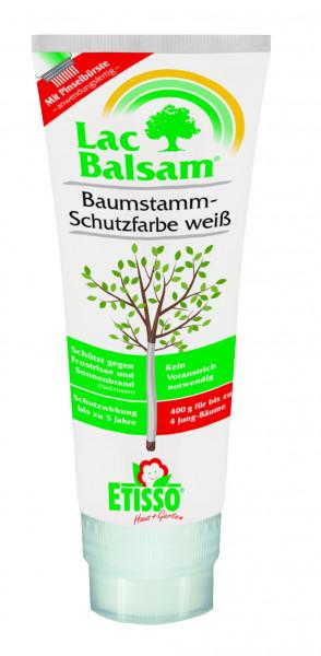 Etisso LacBalsam Baumstamm-Schutzfarbe weiß 400 g