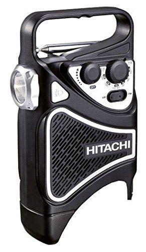 Hitachi Akku Baustellenradio 10,8 V mit LED-Lampe (Basic), UR10DL