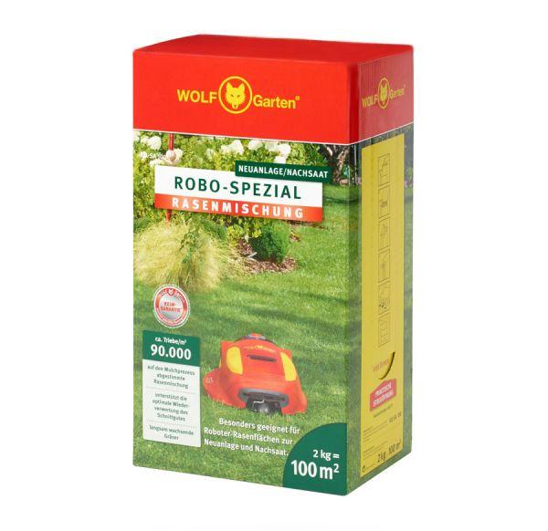 WOLF-Garten RO-SA 100m² Robo-Spezial Rasenmischung, Rasen-Samen