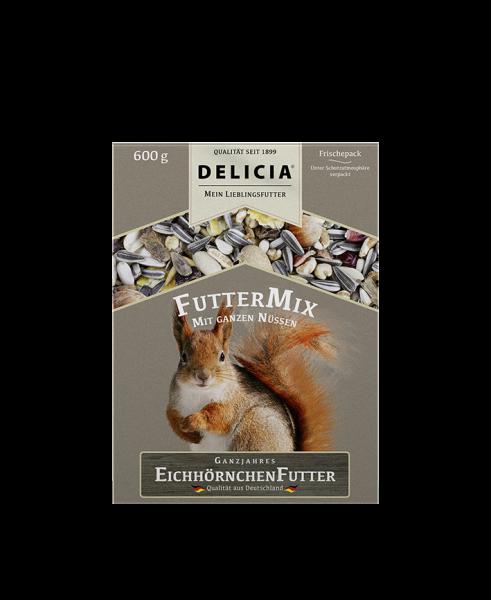 DELICIA EichhörnchenfutterMix 600 g