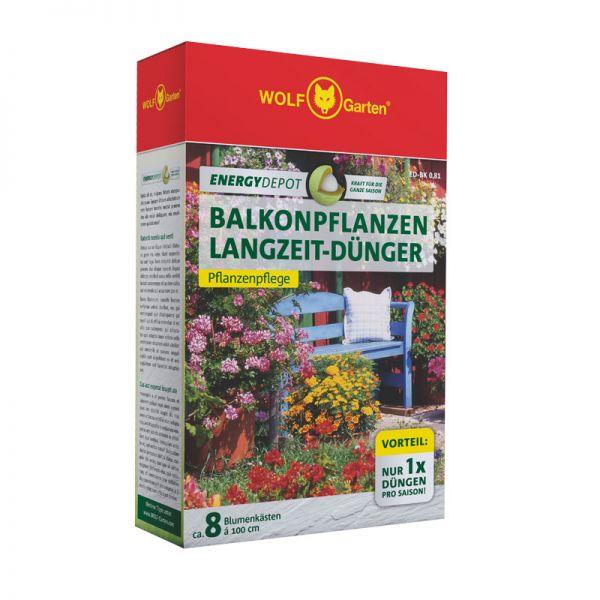 WOLF-Garten ED-BK 0,81kg D/A Energy Depot Balkonpflanzen Langzeitdünger, Pflanzendünger