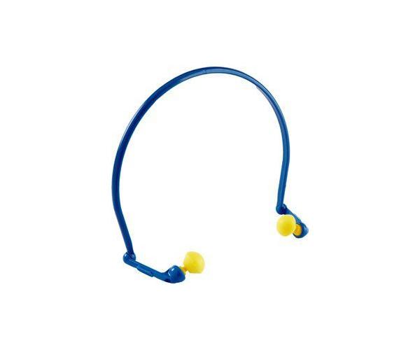 3M Bügelhörschutz mit flexiblem blauen Bügel 21 db