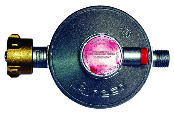 Gasdruckregler mit Sicherheitsablassventil