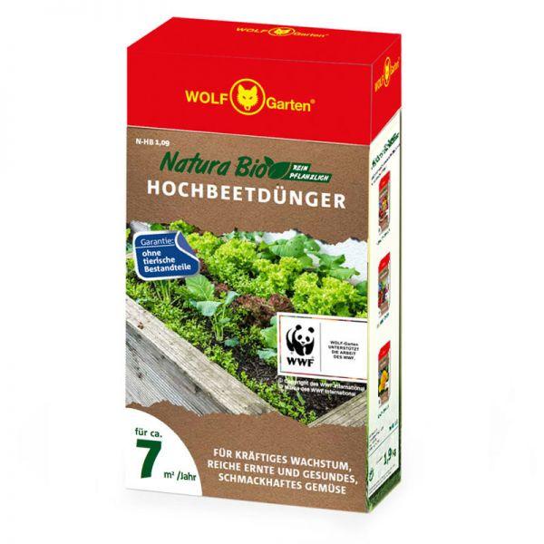 WOLF-Garten N-HB 1,9kg Hochbeetdünger, Pflanzendünger