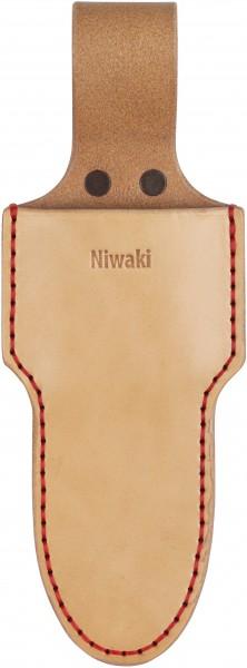 Niwaki Single Holster kurz, Gürteltasche kurz handgenäht Leder