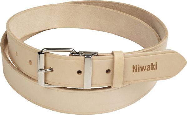 Niwaki Belt, Gürtel Leder Farbe Beige