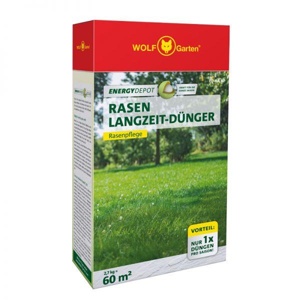 WOLF-Garten ED-RA 60m² D/A Energy Depot Rasen-Langzeitdünger, Rasendünger