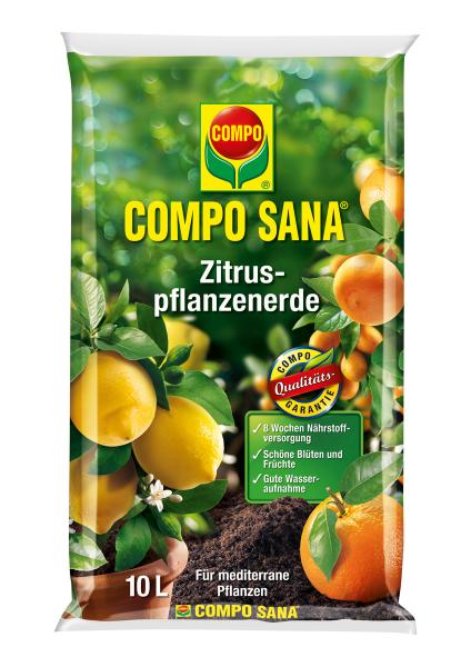 COMPO Sana Zitruspflanzenerde 10 l