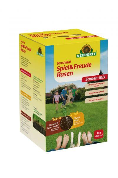 TerraVital Spiel&FreudeRasen Samen-Mix