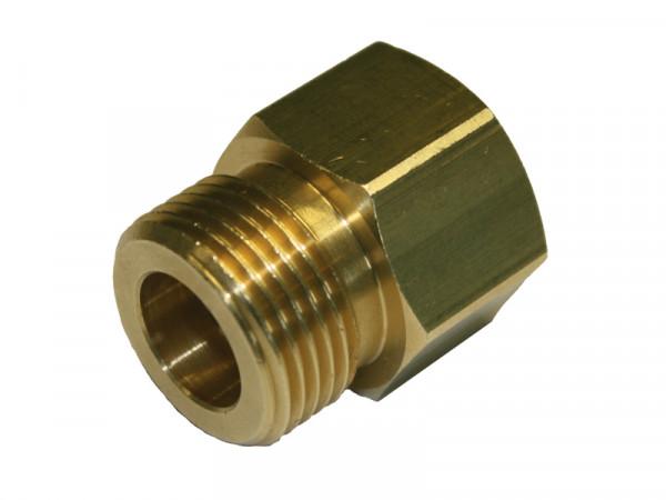 Propan Übergangsstück 200 bar DIN 477-1