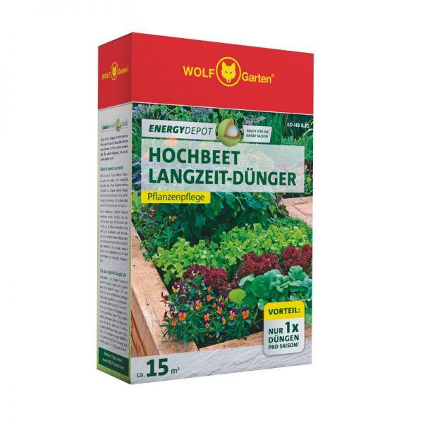 WOLF-Garten ED-HB 0,81kg D/A Energy Depot Hochbeet Langzeitdünger, Pflanzendünger