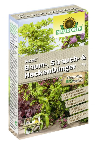 Neudorff Azet Baum-, Strauch- und HeckenDünger
