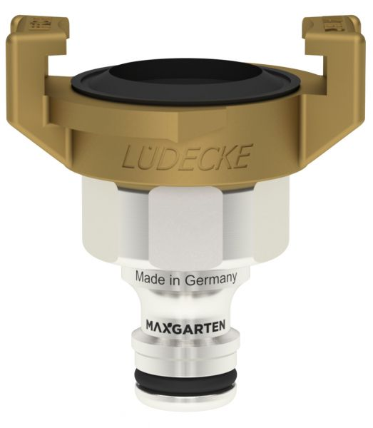 MaxGarten Stecker mit Schlauchanschluss Klauenkupplung