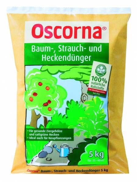 Oscorna Baum-, Strauch- und Heckendünger 5kg