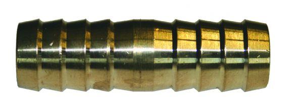 Doppelschlauchtülle Verbinder massiv, robust, langlebig, aus Messing