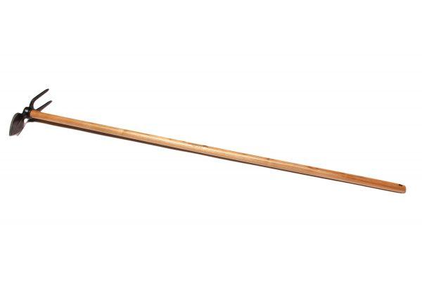 Krumpholz Gartenhacke für feste und steinige Böden, 130cm Eschenstiel, Herzblatt