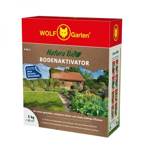 WOLF-Garten N-BA Natura Bio Bodenaktivator 5kg für 60m²