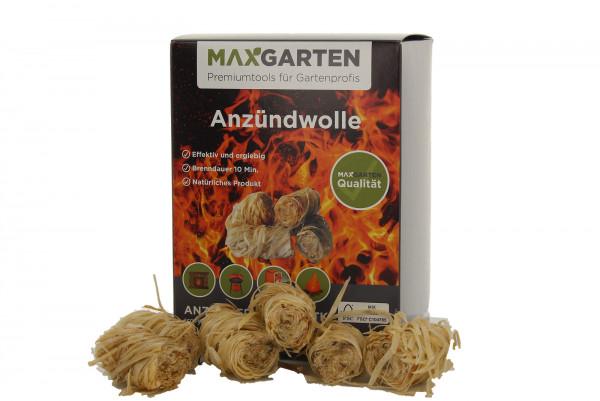 Öko Kaminanzünder Anzündwolle Holzwolle für Ofen, Grill und Kamin 1Pk 32Stk