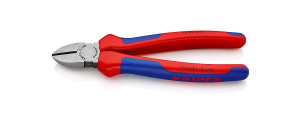 KNIPEX Seitenschneider 70 02 180 poliert mit Facette 180 mm