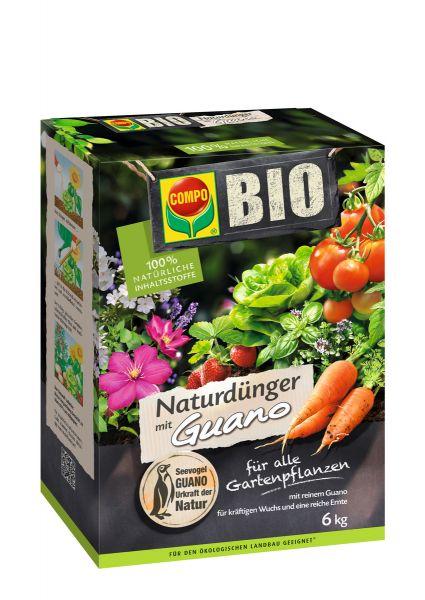 Compo Bio NaturDünger Guano 6 kg