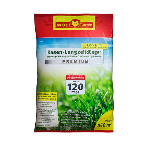 WOLF-Garten LE 450m² Rasen-Langzeitdünger »Premium« für 120 Tage, Rasendünger