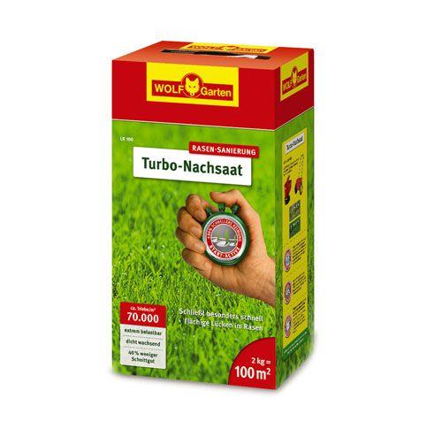WOLF-Garten LR 100m² Turbo Nachsaat, Gras-Samen