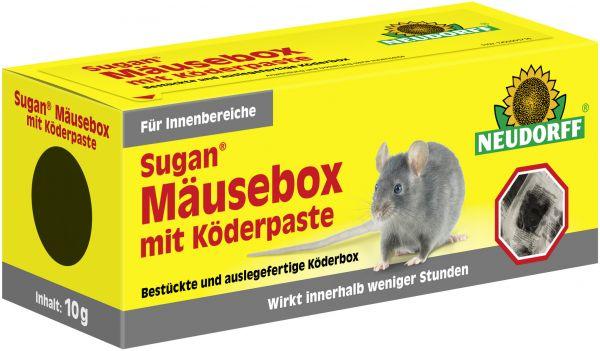 MaxGartenSugan Mäusebox mit Köderpaste Neudorff