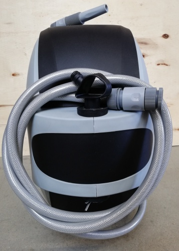 Schlau maxGarten Schlauchaufroller Wasserschlauchaufroller Kunststoff grau inkl